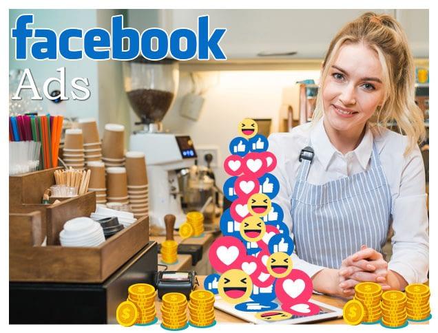 facebook Ads mujer en su negocio likes