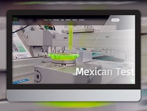 mexican test mockup