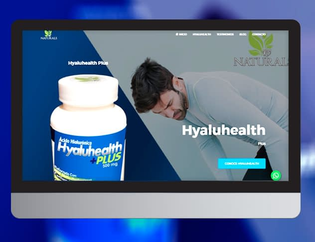 Hyaluhealth Plus mockup