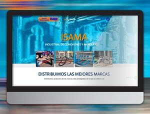 isama industrial Grafi-k diseño web